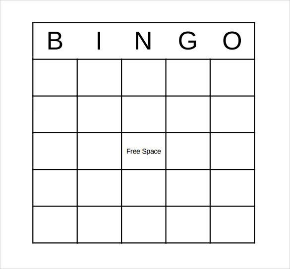 FREE 12 Sample Bingo Card Templates In PDF